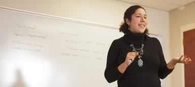 Loretta teaching picture